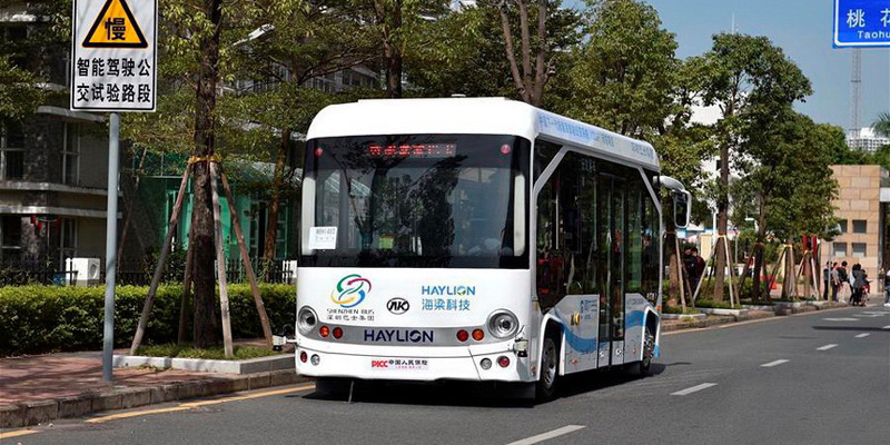 Bezpilota autobusi Testi un reālā izmantošana