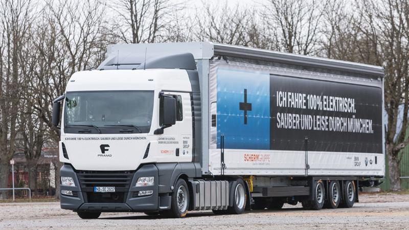 Elektriskie kravas automobiļi Rīt un šodien