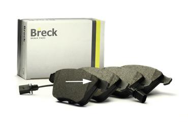 «Breck» bremžu kluči Efektivitāte savienojumā ar komfortu; neskaitāmu izmēģinājumu rezultāts