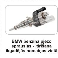 Distehnika, pjezo sprauslas BMW, sprauslu remonts, пьезофорсунки BMW, ремонт форсунок