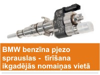 Distehnika, pjezo sprauslas BMW, sprauslu remonts, ������������� BMW, ������ ��������