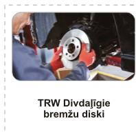 TRW, bremžu diski, тормозные диски