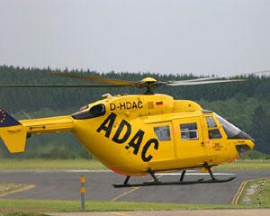 Glābēji uz helikopteriem Vācijā