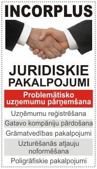 juridiskie un grāmatvedības pakalpojumi, problemātisko uzņemumu pārņemљana - incorplus