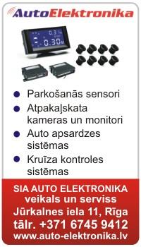 parko�anas sensori, auto signalizācijas, imobilaizeri, atpakaļskaita kameras, kruiza kontroles sistēmas