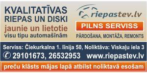 Riepas un diski, jaunie un lietotie, Riepastev.lv